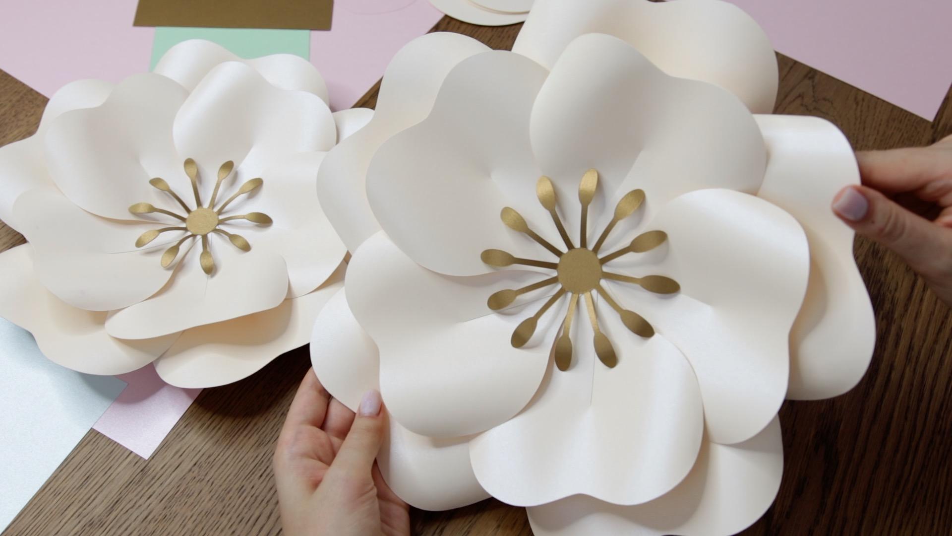 Large paper flower