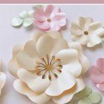 large paper flower tutorial