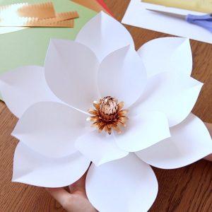 paper magnolia templates