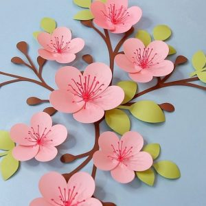 Cherry blossom svg